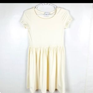 ASOS Maternity Cream Dress 2